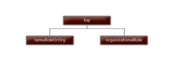 Texas A&M University Roles Branch Object Class Hierarchy